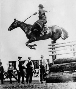 Ester Stace at the Royal Easter show 1916.